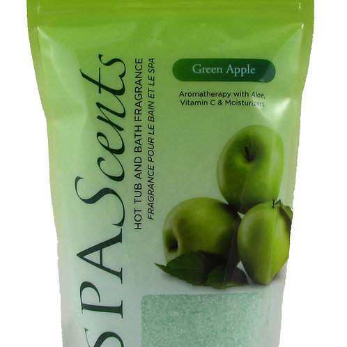 SpaScents 482g Crystal Pouch Green Apple
