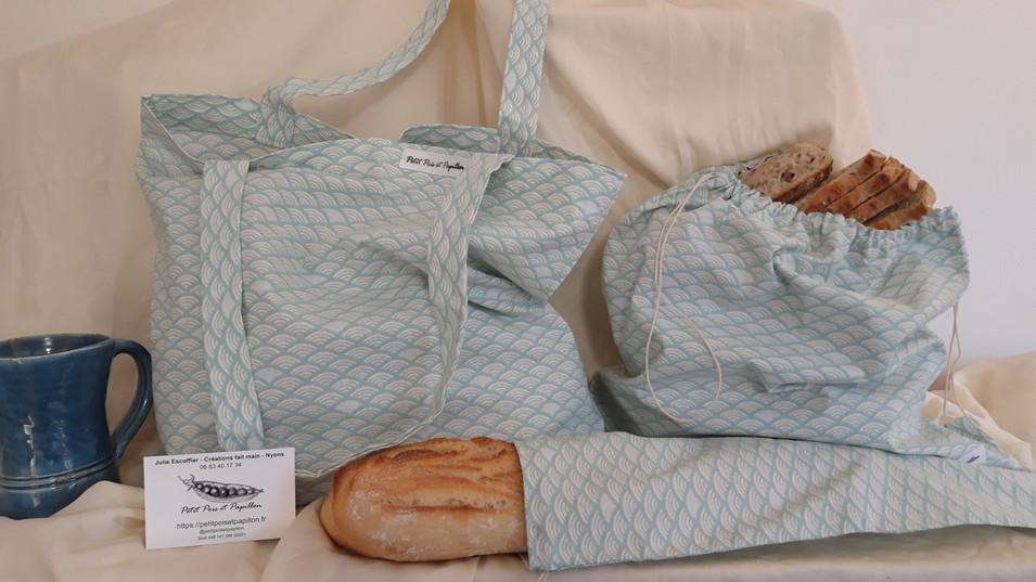 sac à vrac et sac à pain