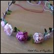 couronne de fleurs pour les enfants