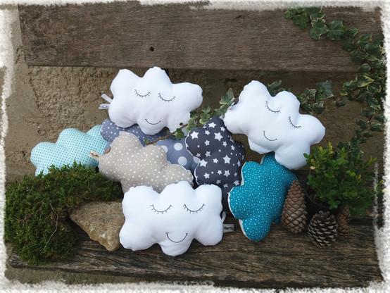 coussin bébé nuage collection Sur le bor