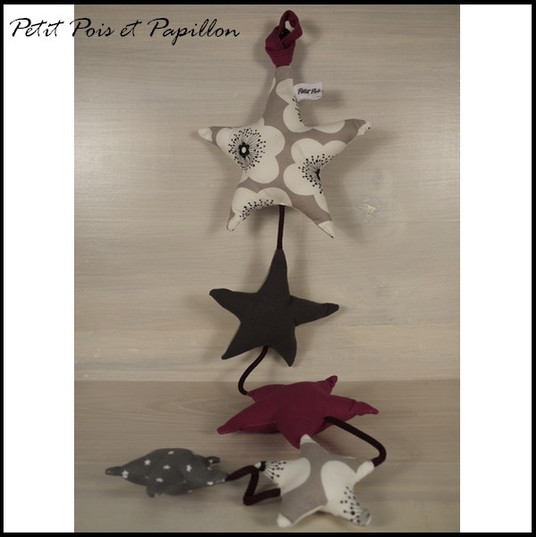 guirlande étoile filante - décoration