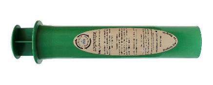 green cylinder dry log maker