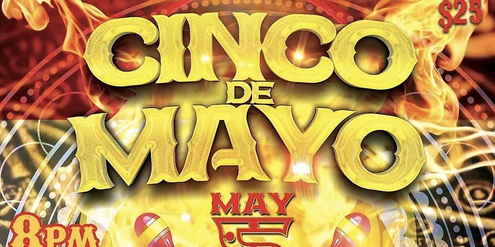 Cinco de Mayo w/ Alfred Robles live in Desert Hot Springs