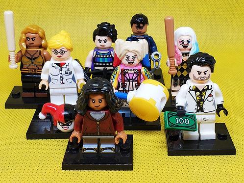 Harley Quinn (Birds of Prey) set of 8 figures