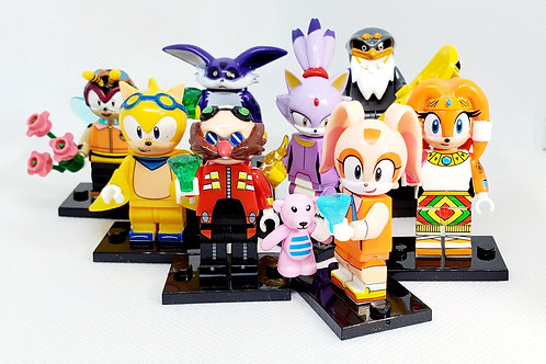 Sonic Set #2 (8 Figures Included)