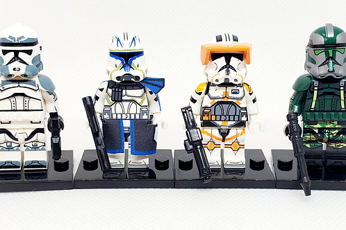 Commander Pack (Wolf, Cody, Rex and Gree)