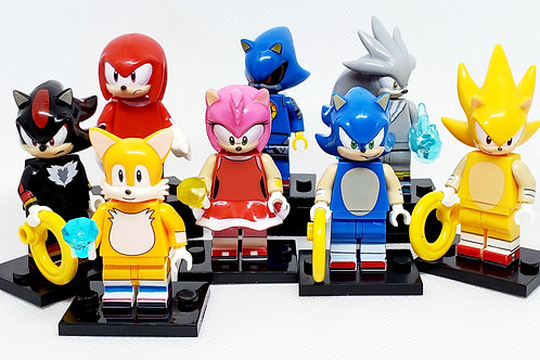 Sonic Set #1 (8 Figures Included)