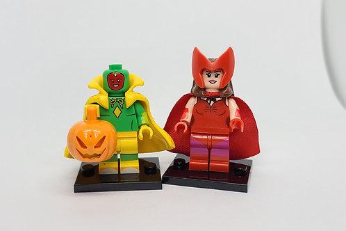 Wanda and Vision (Holloween Costume)