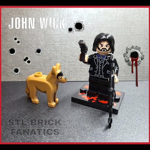 John Wick (The Boogeyman) Dog Included