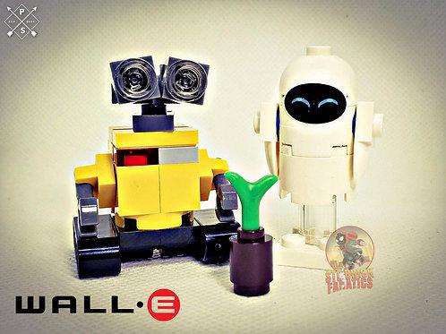 Wall-E and Eve Custom Set