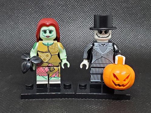 Jack and Sally (Nightmare Before Christmas Set)