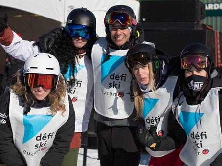 MysTea aime les enfants et aide Leucan Estrie au Défi ski à Bromont ce 16 mars 2019