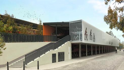 Fahrradparkhaus Oranienburg