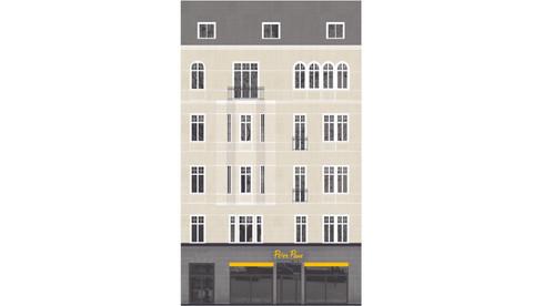Fassaden- sowie Keller- und Strangsanierung, Rankestraße -Berlin
