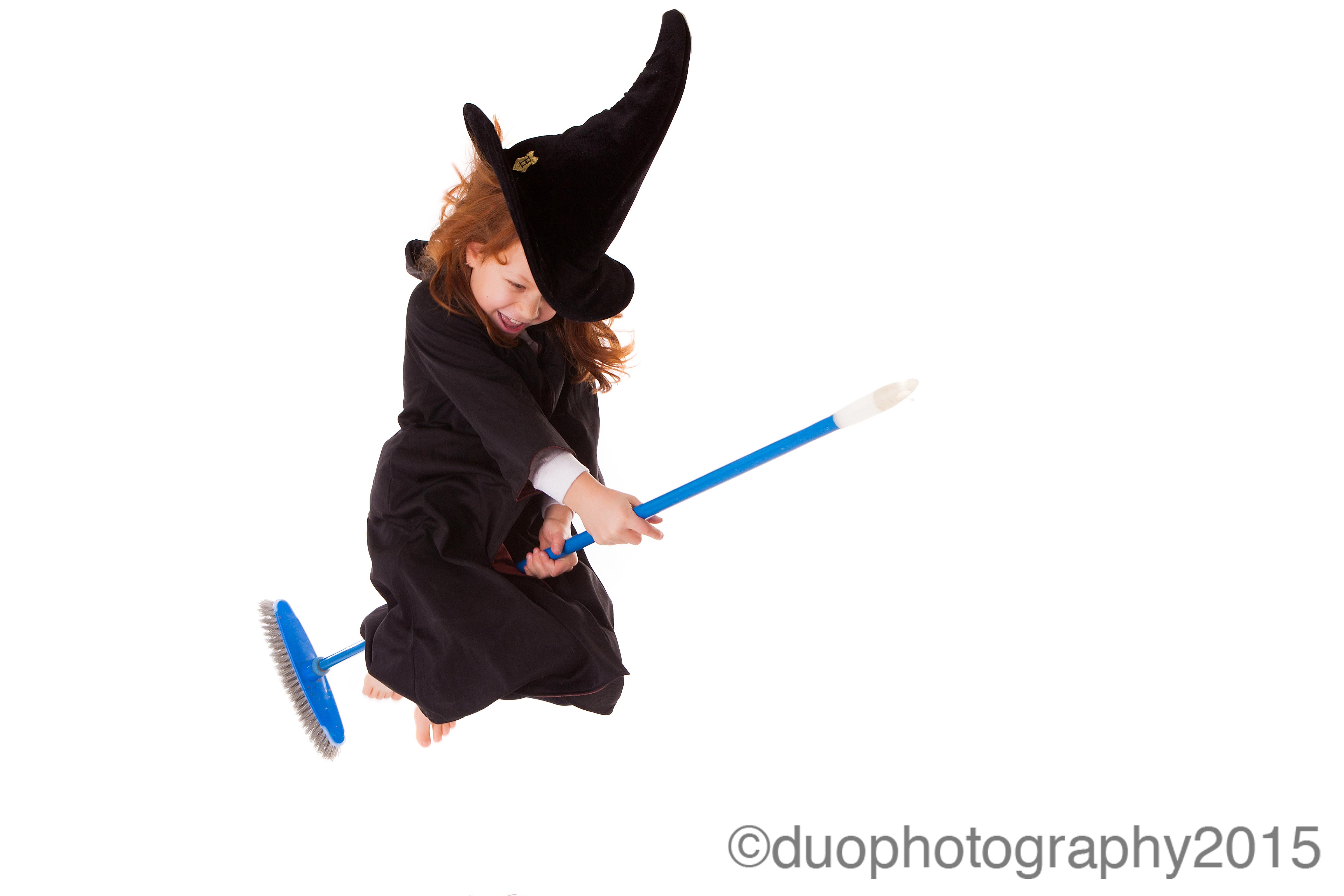 Practising for Quidditch