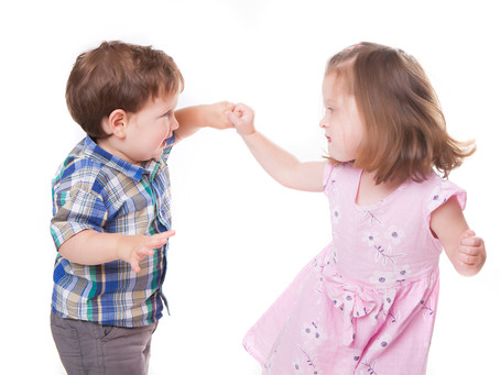 Kids Learning to Share by Example