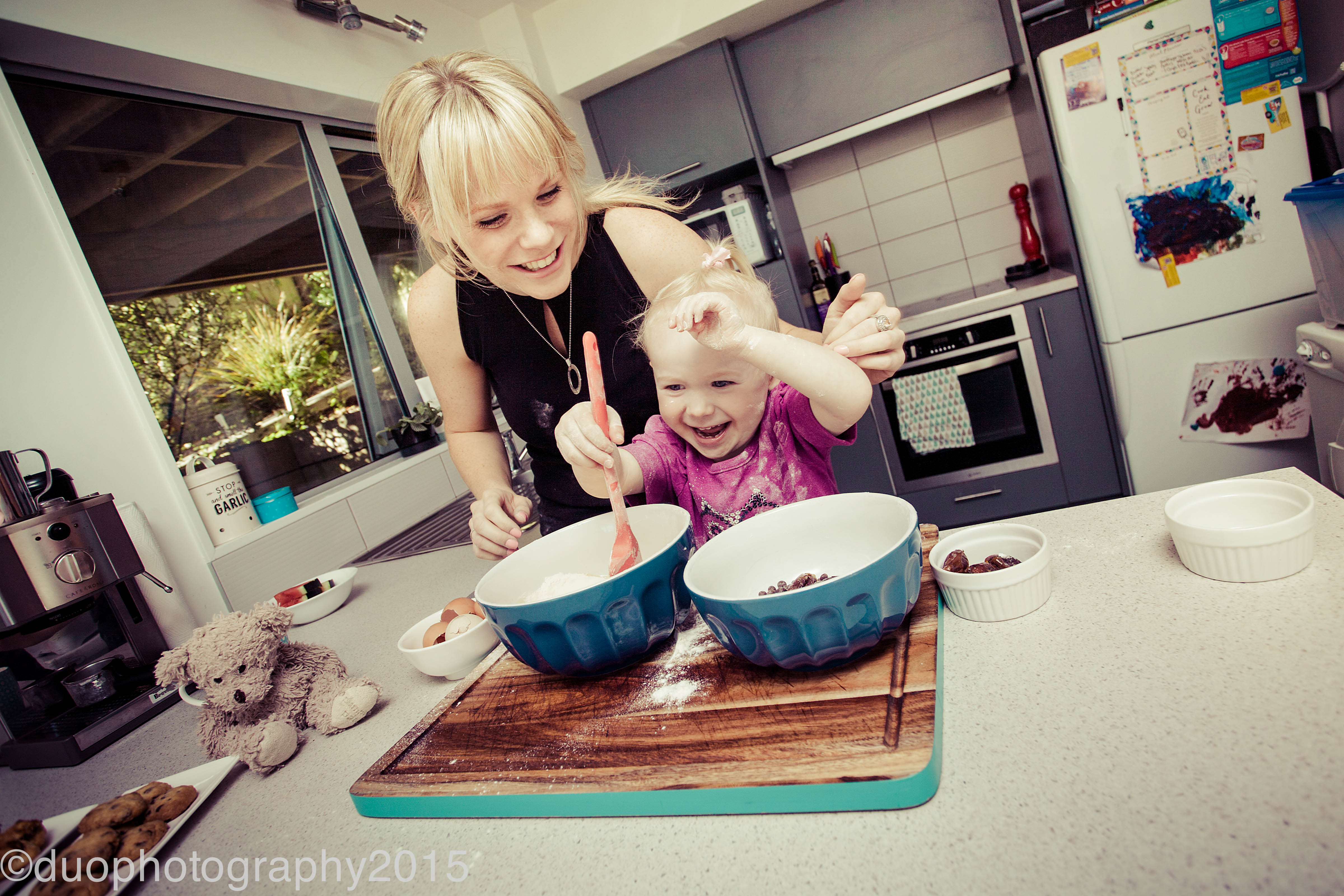 Baking with Mum!