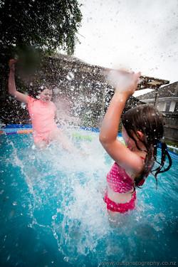 A Storm of Splashing