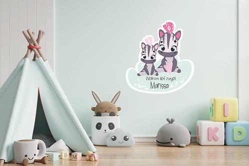 Geboortedecoratiebord 25