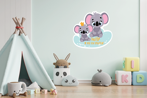 Geboortedecoratiebord 21