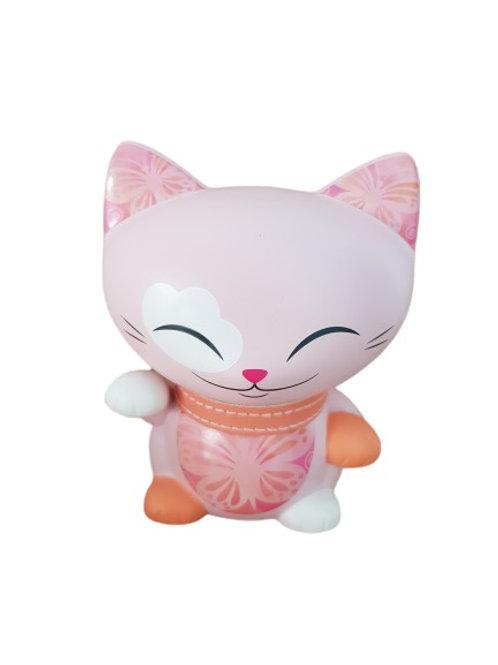 Mani the lucky cat roze