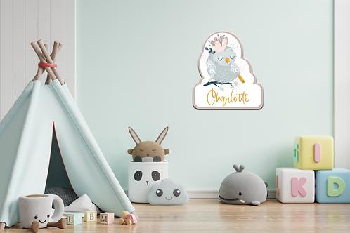 Geboortedecoratiebord  02