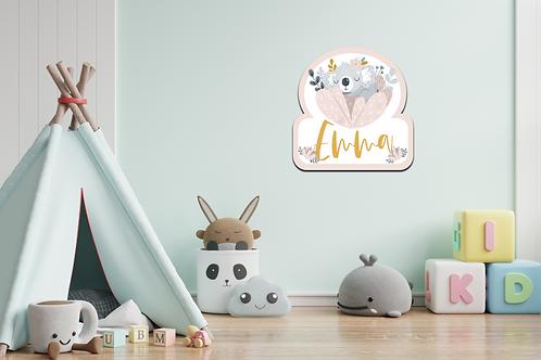 Geboortedecoratiebord  07