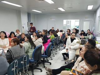 중국 바이어 회사 견학