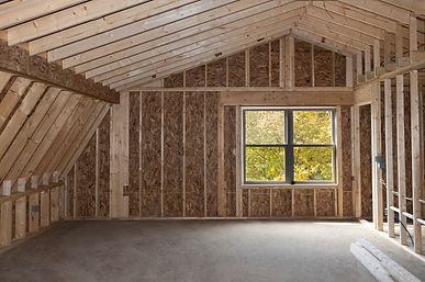 Conroe Attic Conversion to Garage Apartment