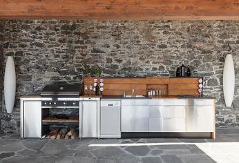 Conroe custom outdoor kitchen
