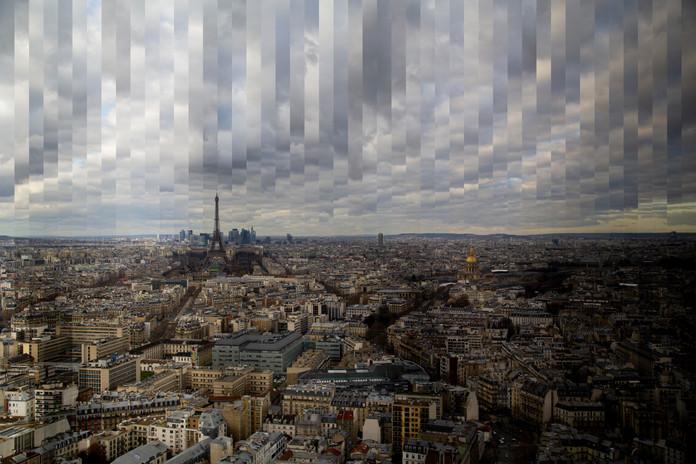 Cloudy Paris.