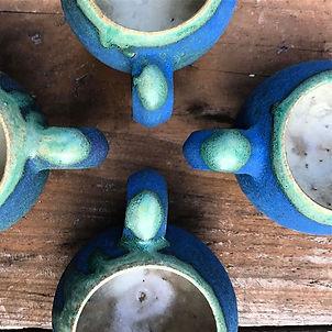 若狹祐介|10サンジ|藍香釉|マグカップ