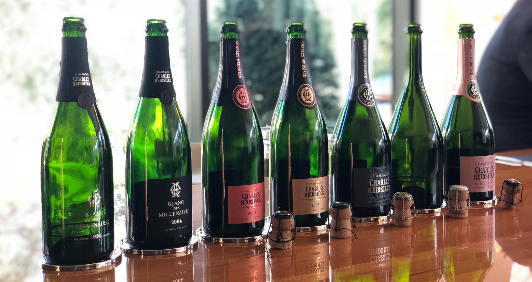 Degustación Champagne Charles Heidsieck