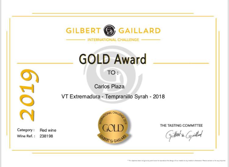 Medalla de Oro Carlos Plaza