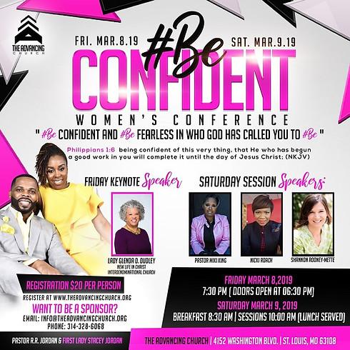 #Be Confident Women's Conference (Sponsor)