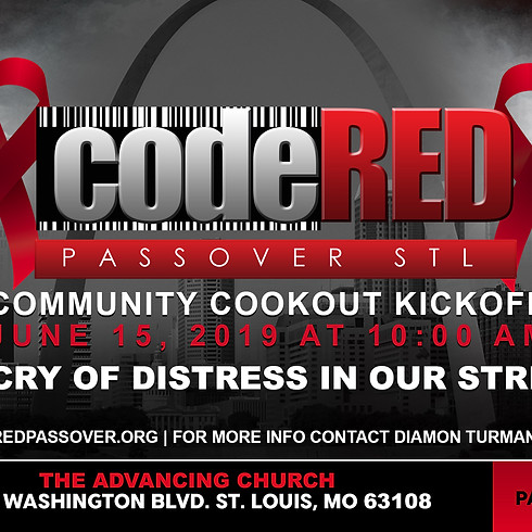 COMMUNITY COOKOUT KICKOFF