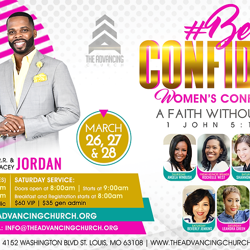 #Be Confident Women's Conference (Day 2 VIP)