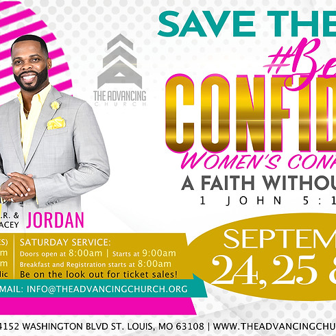 #Be Confident Women's Conference - 2nd Annual