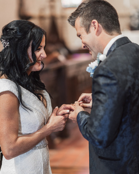 wedding Photography in church of nativity in Huntsville al