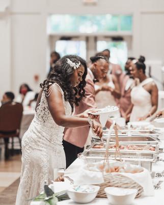 wedding food cooper house Huntsville,al