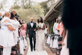 wedding in lake ida cafe athens