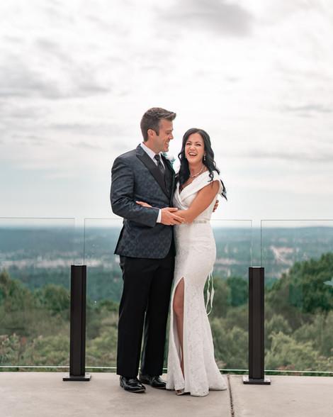 wedding photography in burritt on the Mountain