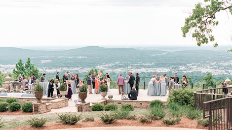 wedding photography at burritt on the Mountain in Huntsville Alabama