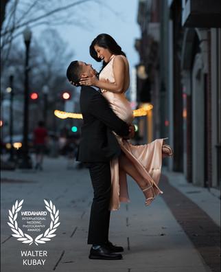 Engagement photoshoot in Huntsville Alab