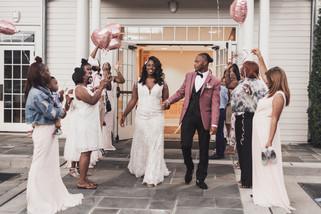 cooper house vanue wedding party