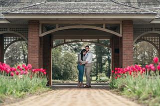 Portrait Photography in botanical garden