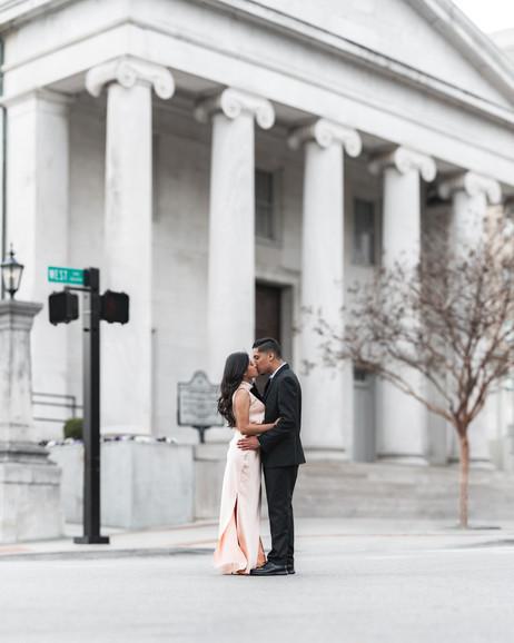 Engagement Photoshoot in Huntsville al