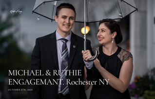 Engagement photoshoot in Rochester ny