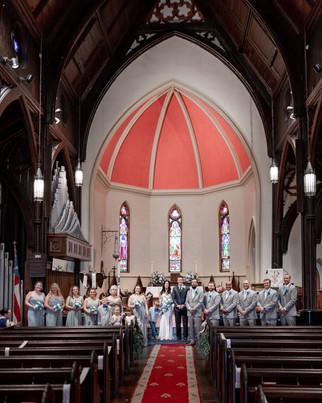 wedding photography in church of nativit