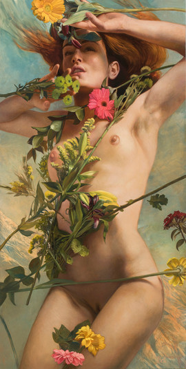 Venus Clothed in Flowers